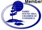 Member of Parry Sound Area Chamber of Commerce